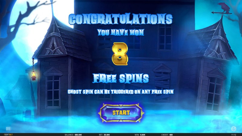 Ghosts 'N' Gold :: 8 Free Spins Awarded
