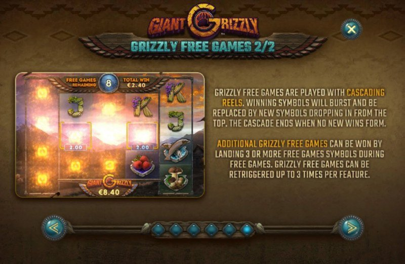 Giant Grizzly :: Free Game Rules