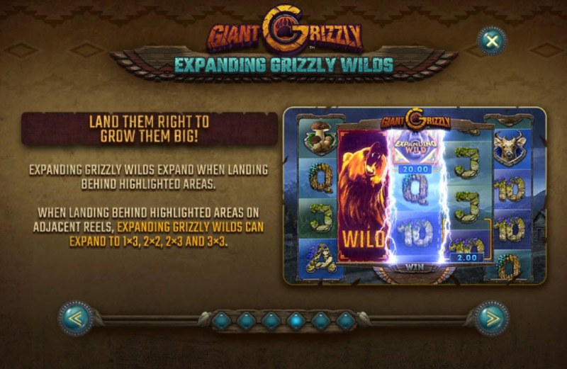 Giant Grizzly :: Expanding Grizzly Wilds