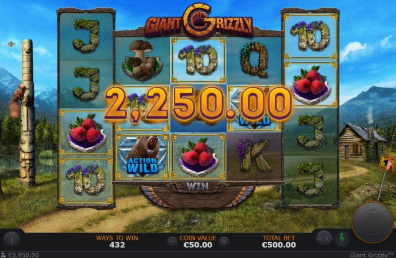 Giant Grizzly :: Multiple winning paylines
