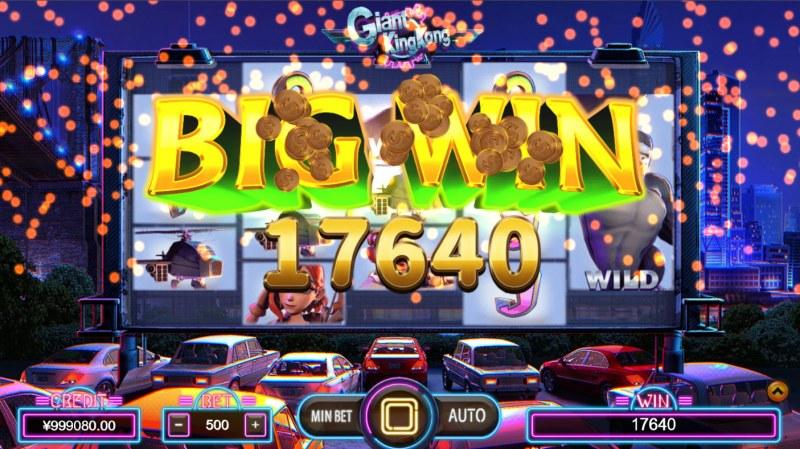 Giant King Kong :: Big Win