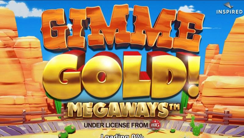 Gimme Gold Megaways :: Splash Screen