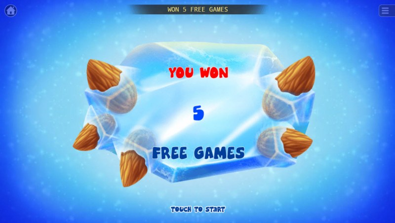 Glacial Epoch :: 5 Free Spins Awarded