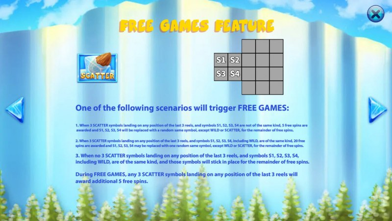 Glacial Epoch :: Free Spins Rules