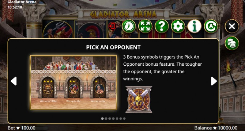 Gladiator Arena :: Pick An Opponent