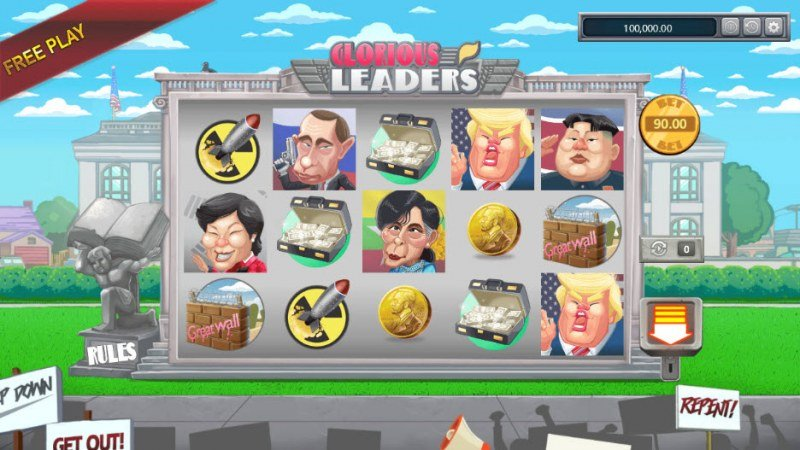 Glorious Leaders :: Main Game Board