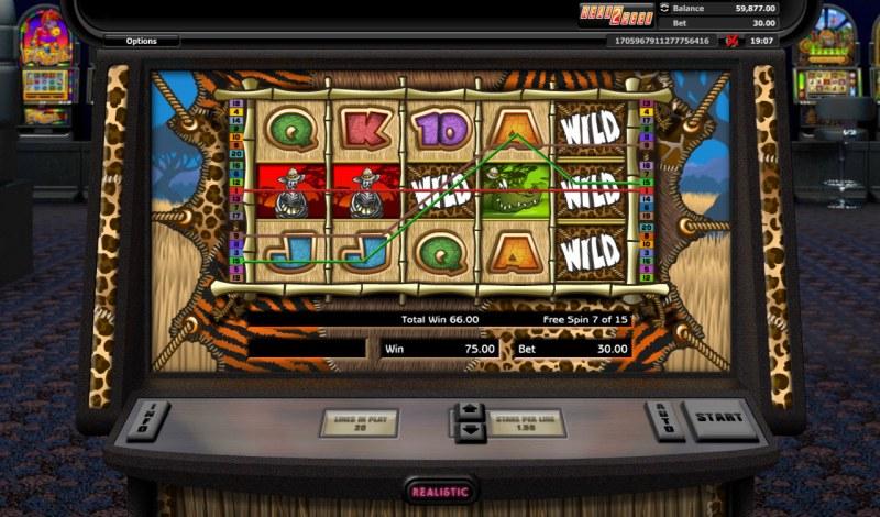Go Wild On Safari :: Multiple winning paylines