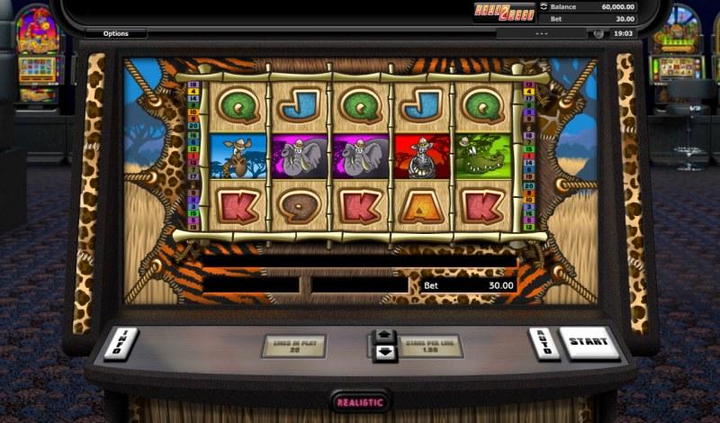 Go Wild On Safari :: Main Game Board