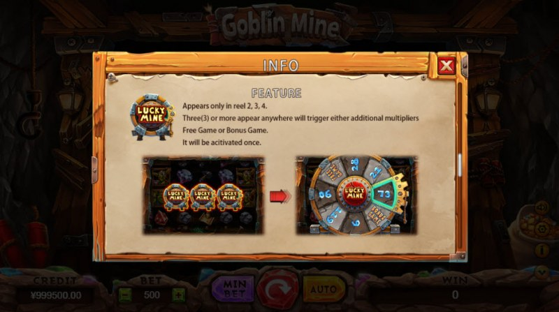 Goblin Mine :: Scatter Symbol Rules
