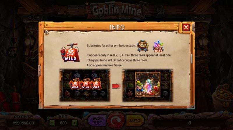 Goblin Mine :: Wild Symbols Rules