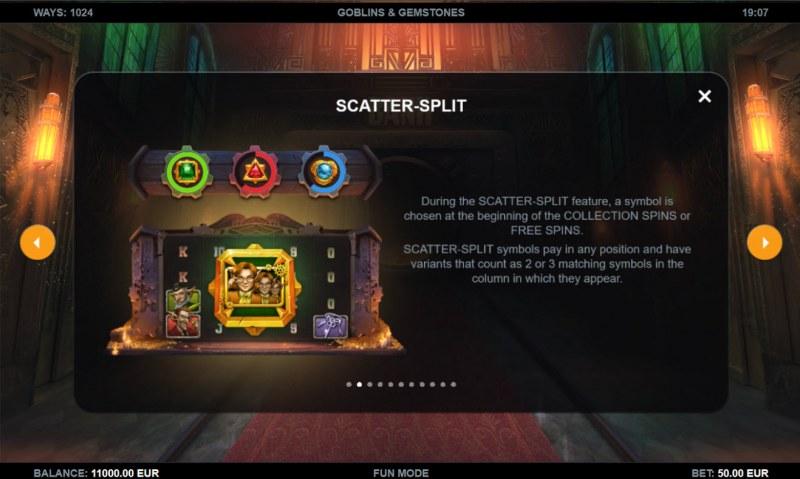 Goblins & Gemstones :: Scatter Split