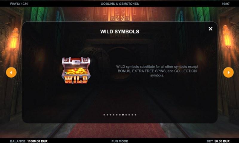 Goblins & Gemstones :: Wild Symbol Rules