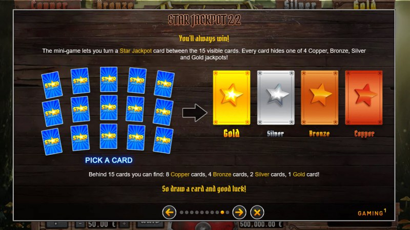 Gobs 'n Gold :: Jackpot Rules