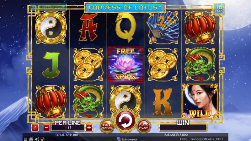 Goddess of Lotus :: Main Game Board