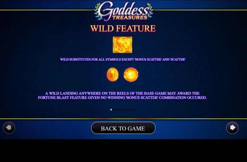 Goddess Treasures :: Wild Symbol Rules