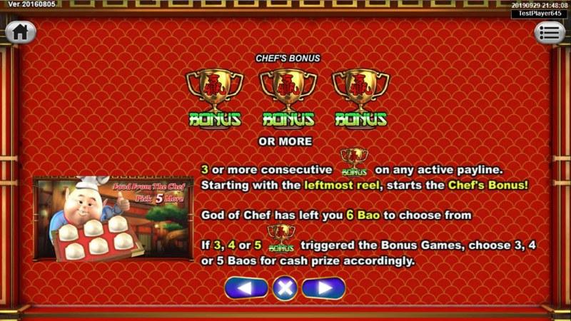 God's Kitchen :: Bonus Game Rules
