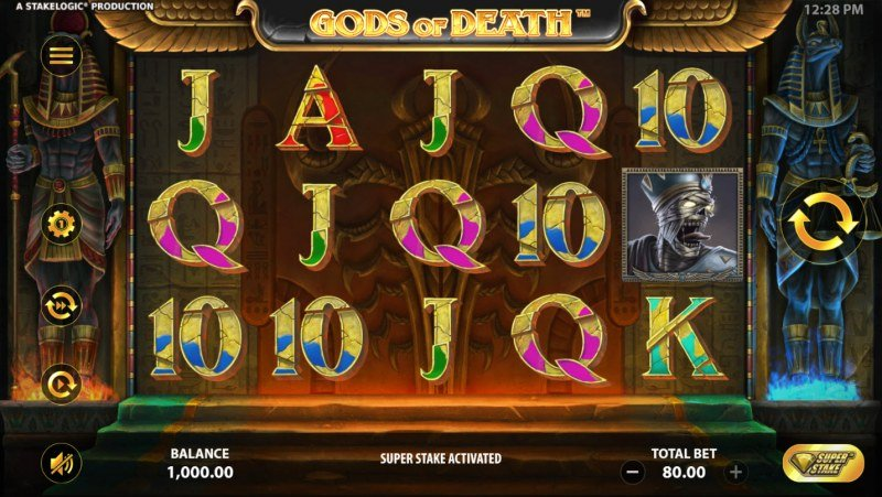 Gods of Death :: Main Game Board