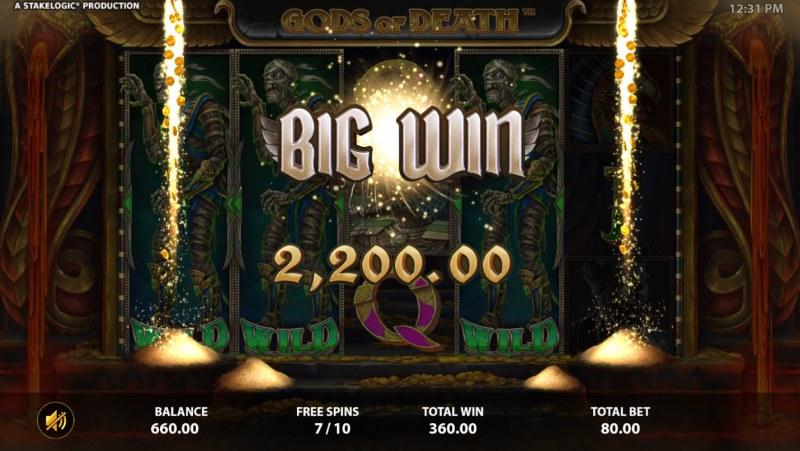 Gods of Death :: Big Win