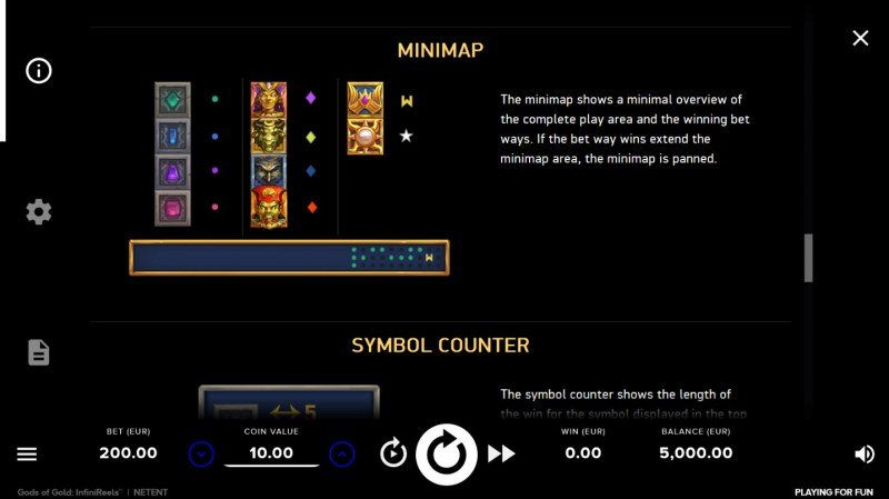 Gods of Gold :: Minimap