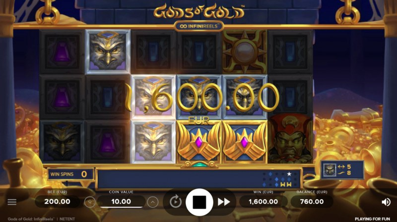 Gods of Gold :: Big Win