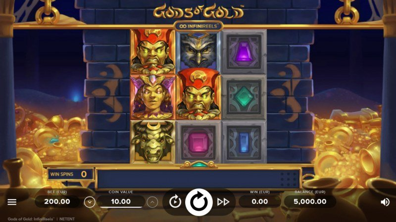 Gods of Gold :: Main Game Board