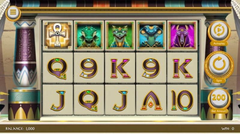 Gods of Karnak :: Main Game Board