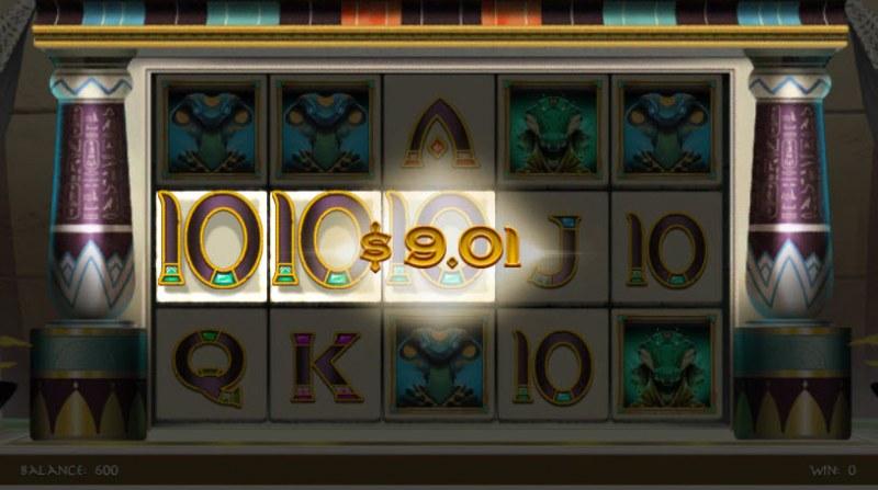 Gods of Karnak :: 3 of a kind win