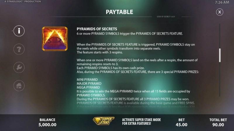 Gods of Secrecy :: Pyramid of Secrets