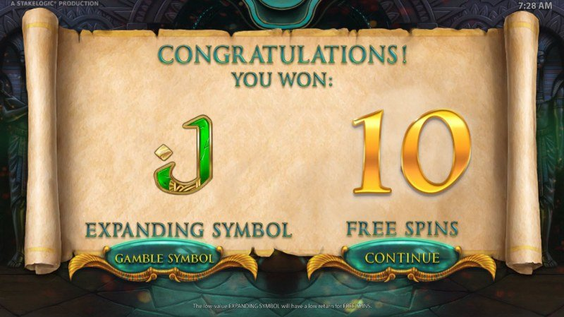Gods of Secrecy :: 10 free spins awarded