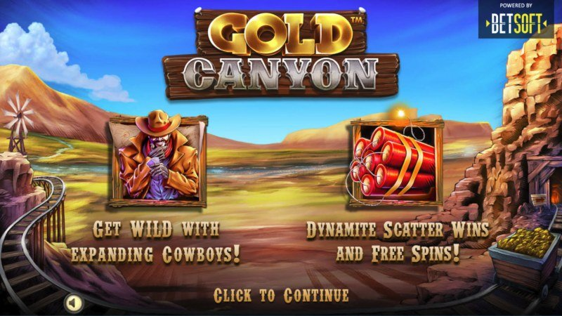Play slots at Superbet Palace: Superbet Palace featuring the Video Slots Gold Canyon with a maximum payout of $10,000