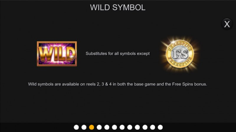 Gold Cash Free Spins :: Wild Symbol Rules