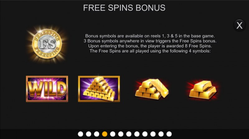 Gold Cash Free Spins :: Free Spin Feature Rules