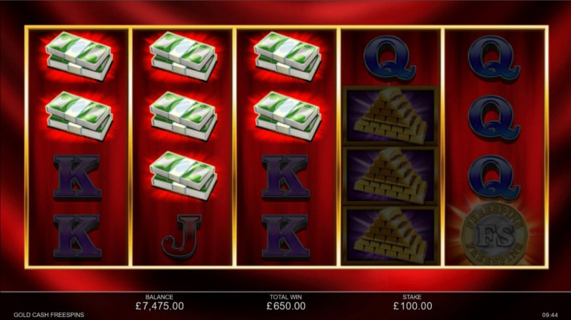 Gold Cash Free Spins :: Multiple winning paylines