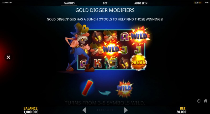 Gold Digger :: Gold Digger Modifiers