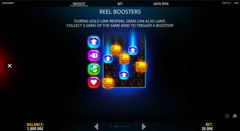 Gold Digger :: Reel Boosters