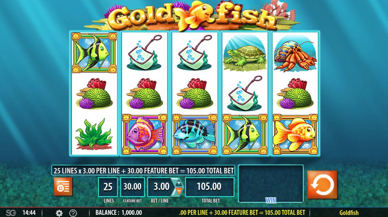 Gold Fish :: Main Game Board