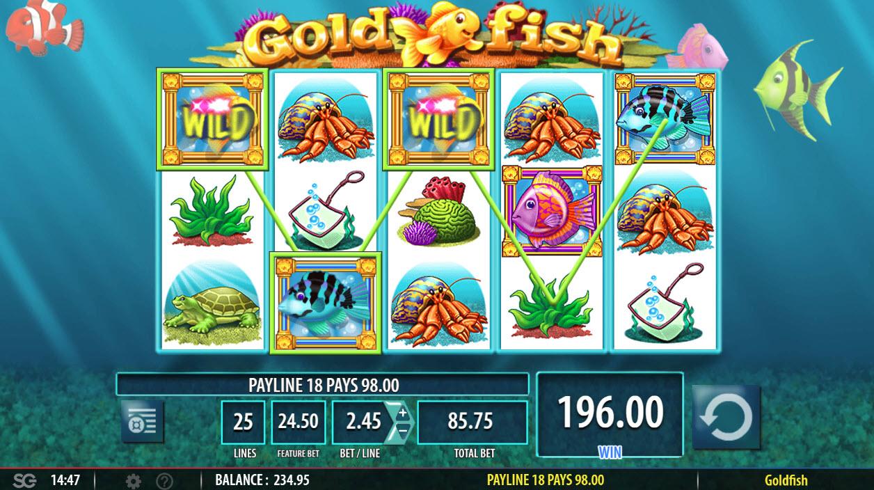 Gold Fish :: Three of a kind