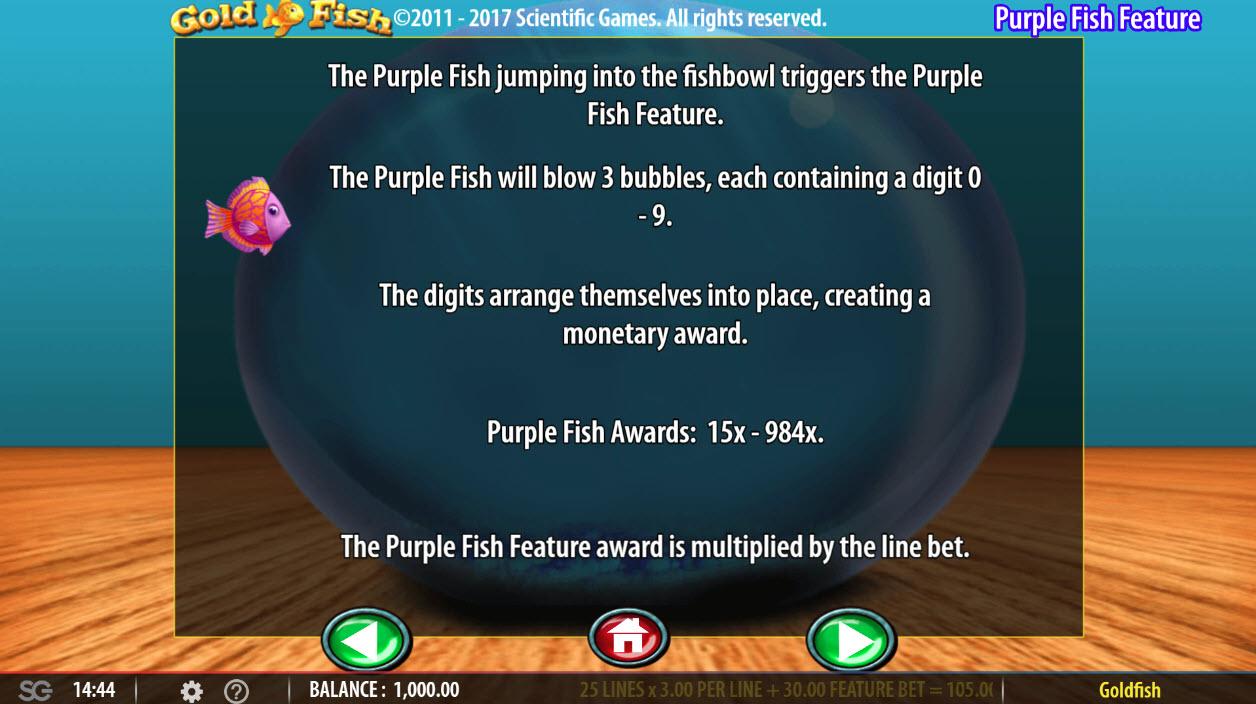Gold Fish :: Purple Fish Feature