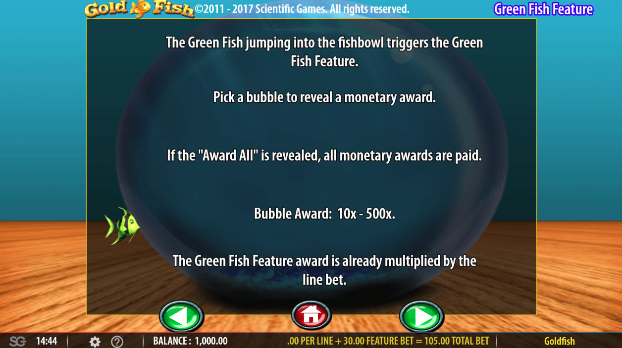 Gold Fish :: Gree Fish Feature