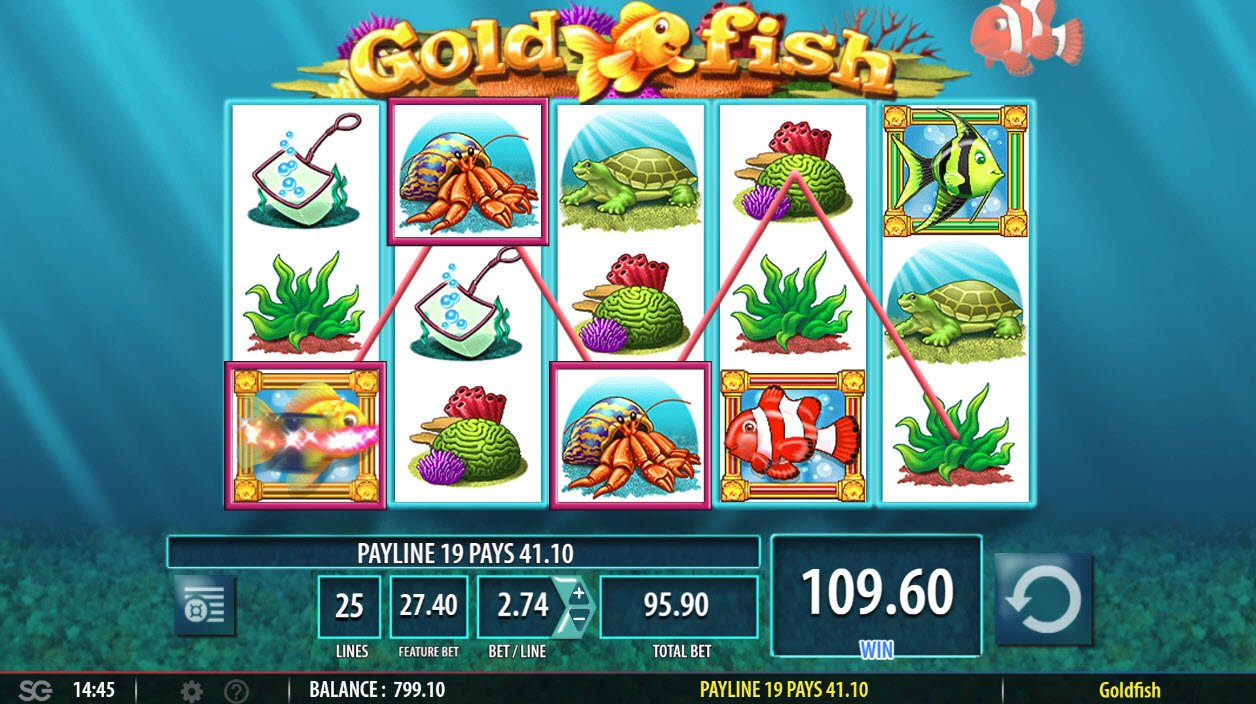 Gold Fish :: Four of a kind