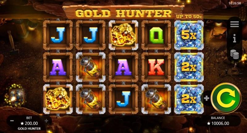 Gold Hunter :: Base Game Screen