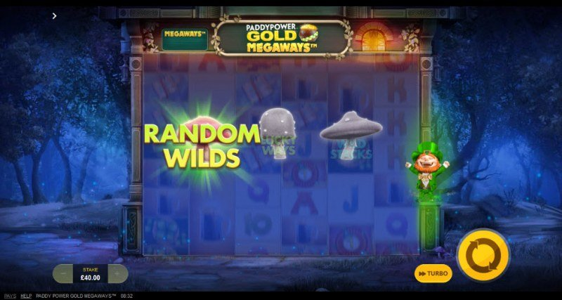 Gold Megaways :: Random Wilds feature awarded