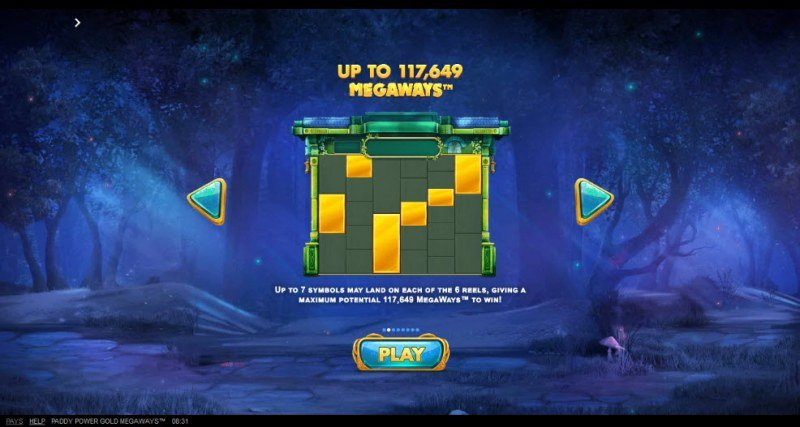 Gold Megaways :: Up to 117649 ways to win