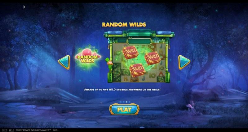Gold Megaways :: Random Wilds