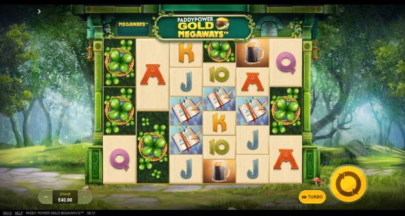 Gold Megaways :: Main Game Board