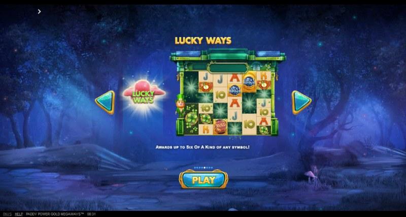 Gold Megaways :: Lucky Ways