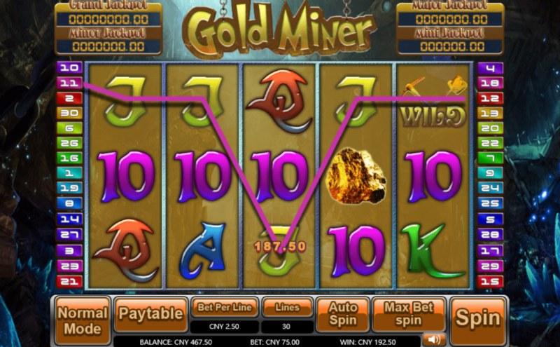 Gold Miner :: Five of a kind