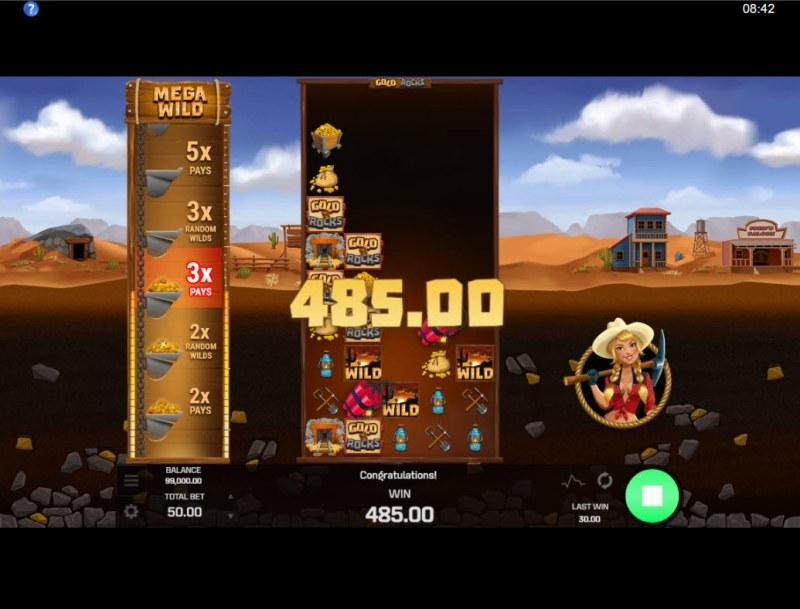 Gold N Rocks :: Big Win