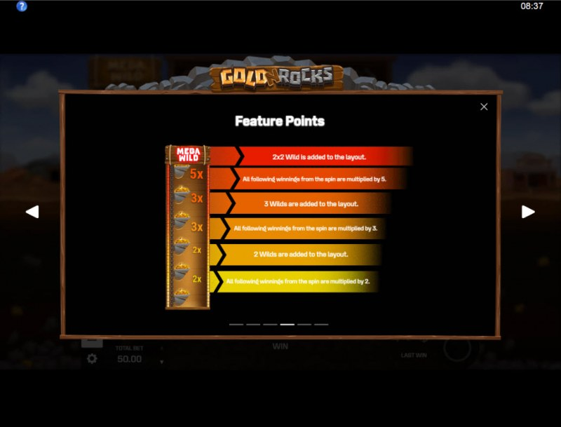 Gold N Rocks :: Feature Rules
