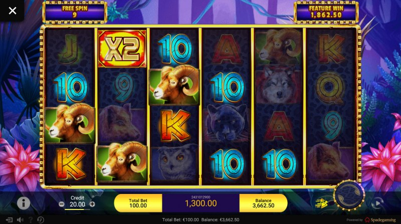 Gold Panther :: Multiple winning paylines